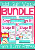 Dolch Words Complete Set plus nouns Sight Words Slap-It Card Game/Center