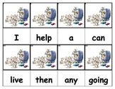 Dolch Words Flashcards - Dogs (Dalmatians)