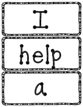 Dolch Word Wall Cards - Dot Letters w/Border