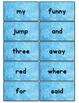 Dolch Words Flashcards: Frozen Background
