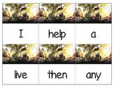 Dolch Words Flashcards (Large) - Jungle Book Characters