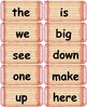 Dolch Words Flashcards: Shabby Chic