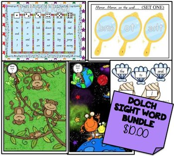 Dolch Words Games *BUNDLE*