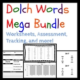 Dolch Sight Words Growing Bundle
