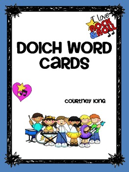 Dolch Words Packet