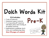 Dolch Words Pre-K Kit