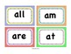 Dolch Words Primer Word Wall Cards