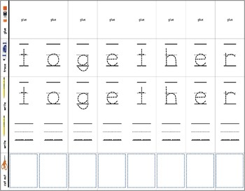 Dolch Words Printable Activity: Trace & Cut & Paste - 220 Pages