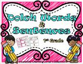 Dolch Words & Sentences ~ 1st Grade Set