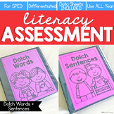 Dolch Words + Sentences Assessment, Writing - Literacy Rea