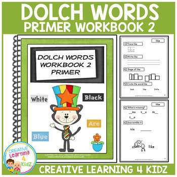 Dolch Words Workbook 2 Primer