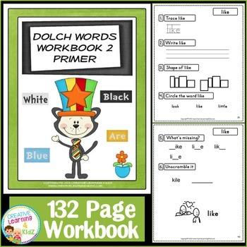Dolch Words Workbook BUNDLE