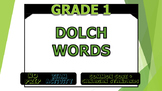 Dolch Words and Sight Phrases - 5 Booklets! - Grades 1 and 2!
