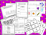 Dolch and Fry Sight Words Curriculum Download. Preschool-4th Grade.