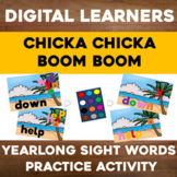 Dolch sight words Google Slides YEARLONG Dolce sight words Practice Review