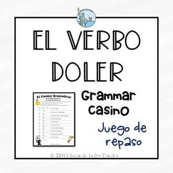 Doler El verbo doler review game