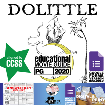 Dolittle Movie Guide   Questions   Worksheet (PG - 2020)