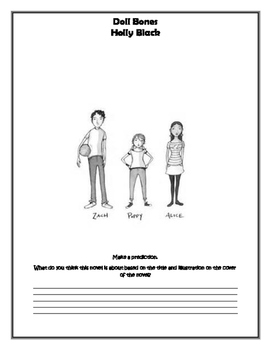 Doll Bones Question Packet with Novel Test