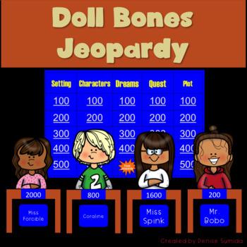 Doll Bones by Holly Black Jeopardy