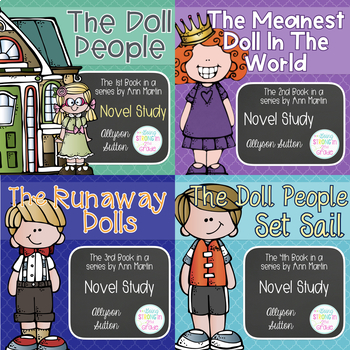 Doll People Series Novel Studies - Books 1-4 of The Doll People Series