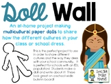 Doll Wall: Celebrating Diversity with Multicultural Paper Dolls