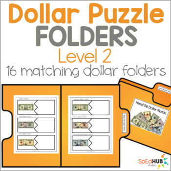 Dollar Puzzle Folders - Level 2