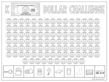 Dollar Challenge: Articulation Activity