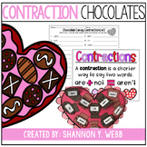 Chocolate Contractions (a Dollar Craft)