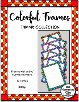 Dollar Deal! - 10 Bright, Colorful Frames - Tammy Collection
