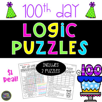 Dollar Deal!: 100th Day Logic Puzzles