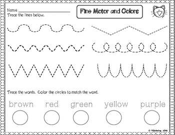 Dollar Deal #2: Fine Motor and Colors