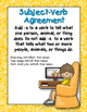 Dollar Deal! 40 Task Cards! Subject Verb Agreement 1st and 2nd Grade CCSS