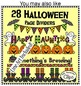 Dollar Deal! 8 Halloween Pencil Page Dividers with Room for Text