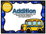 Dollar Deal-Addition -12 Task Cards-With and Without QR Codes