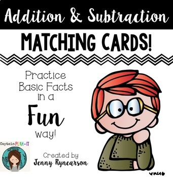Dollar Deal! Addition and Subtraction Matching Cards!