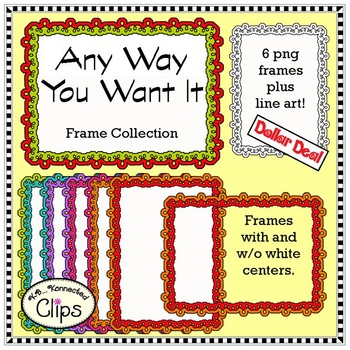 Dollar Deal! Any Way You Want It Frame Collection