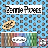 Dollar Deal! Bonnie Paper Collection - Digital Papers