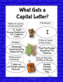 Dollar Deal! Capitalization Task Cards, Scoot {40 Multiple Choice Cards}