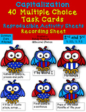 Dollar Deal! Capitalization Task Cards, Scoot {40 Multiple Choice Cards}