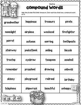 Dollar Deal! Compound Words Task Cards {Scoot}  Common Core Aligned