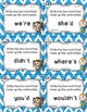 Dollar Deal! Contractions Task Cards {40 Cards} Printables