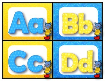 Dollar Deal! Cool Cats Word Wall Words! {All 220 Dolch Words}