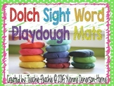 Dolch Sight Word Play Dough Mats