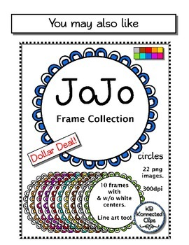 Dollar Deal! JoJo Frame Collection - rectangles