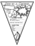 Dollar Deal! Minion Back To School Color Your Own Pennant!