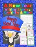 New Year's Activities {Informational Text Literacy, Writing, & Craftivity}
