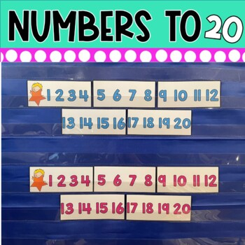 Dollar Deal! Ordering Numbers to 20 Pocket Chart Center