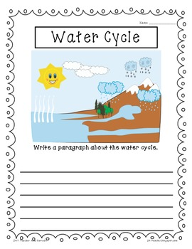 Dollar Deal: Paragraph Science Writing for Homework, Centers, & More