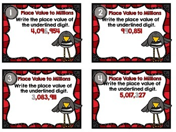 Dollar Deal-Place Value to Millions-12 Task Cards-With and Without QR Codes