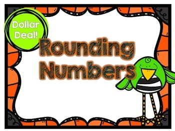 Dollar Deal-Rounding Through Millions -12 Task Cards-With